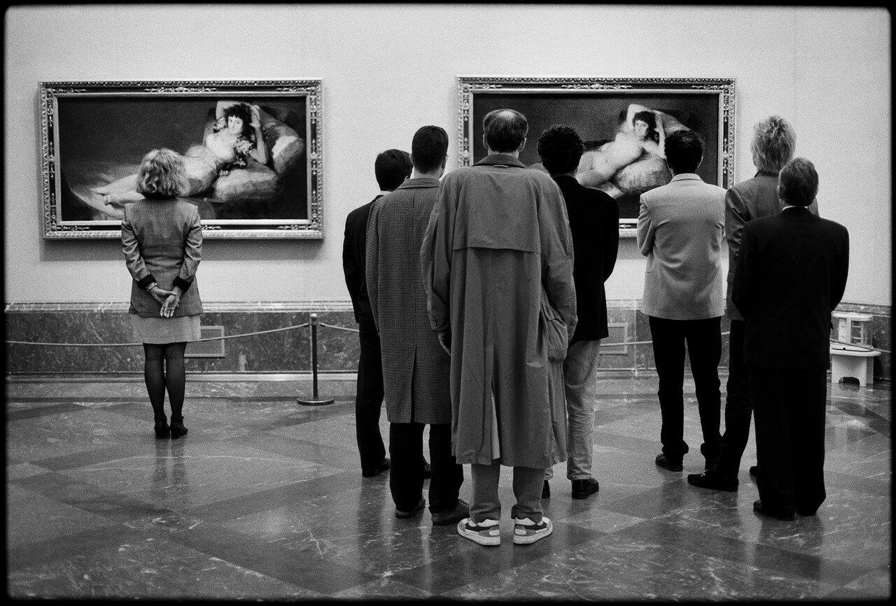 1995. Испания, Мадрид. Музей Прадо