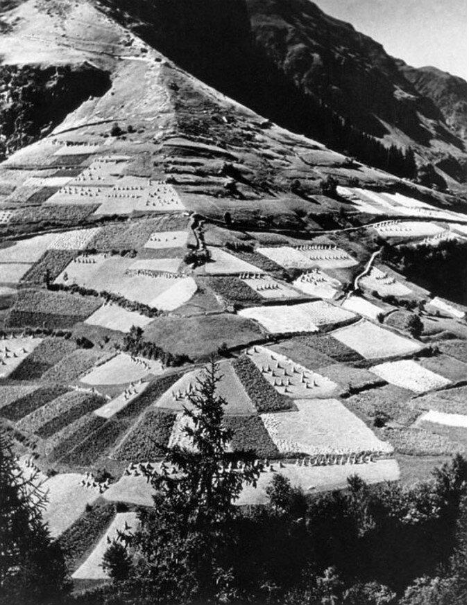 """1937. Валь-д""""Изер, Французские Альпы"""