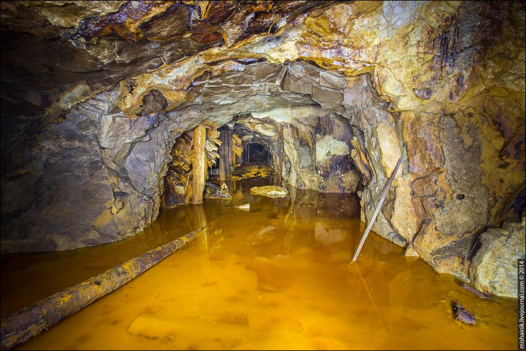 Неизвестный горизонт старой шахты