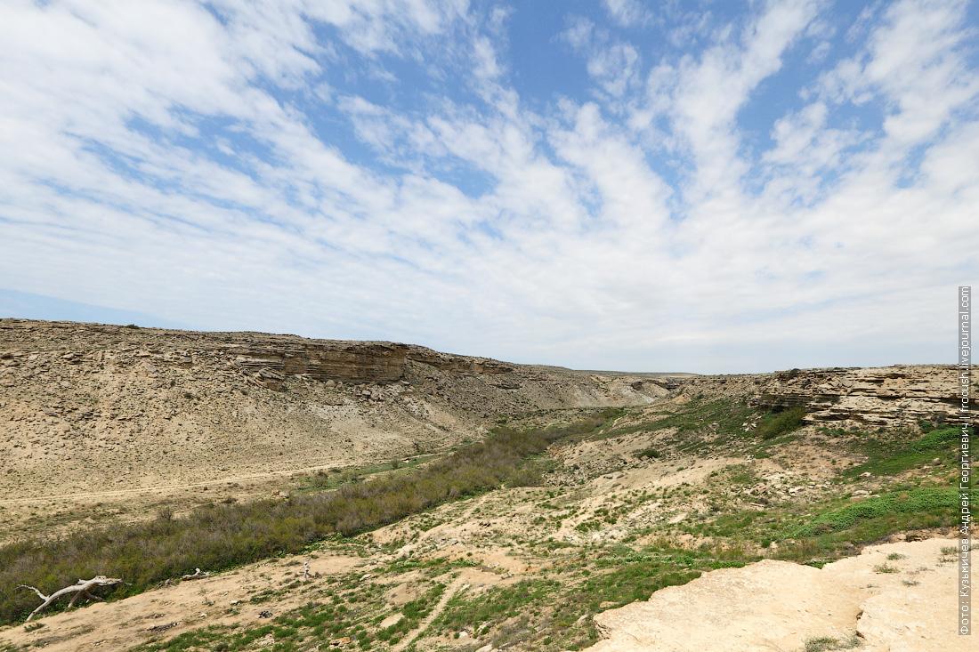 Тюб-Караган каньон Саура