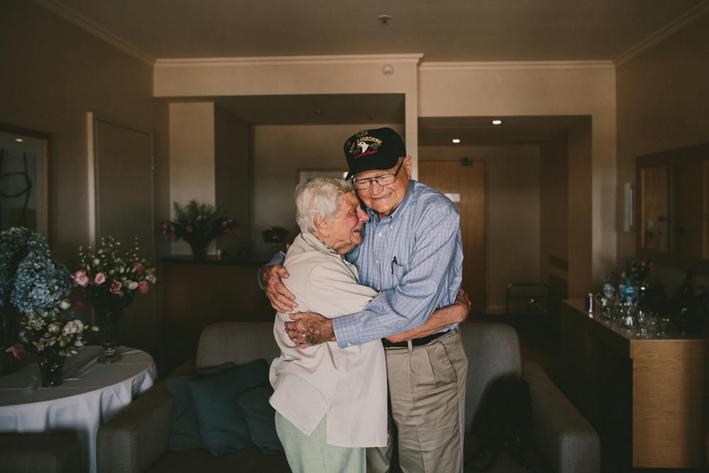 Спустя 70 лет ветеран войны нашел свою возлюбленную на другом конце света