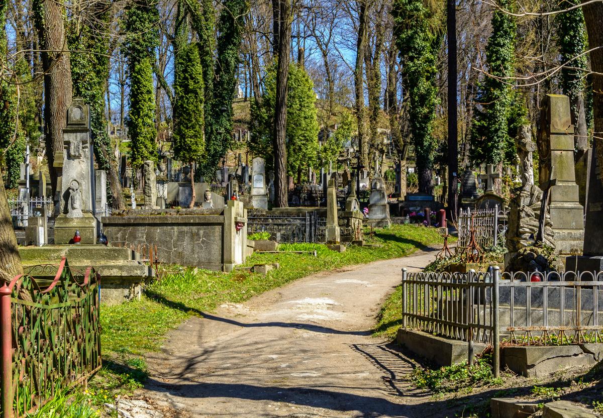 Кладбище которое парк