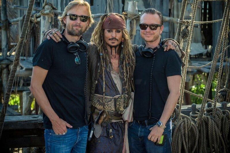 Режиссеры   «Пиратов 5»  будут награждены на СинемаКоне.