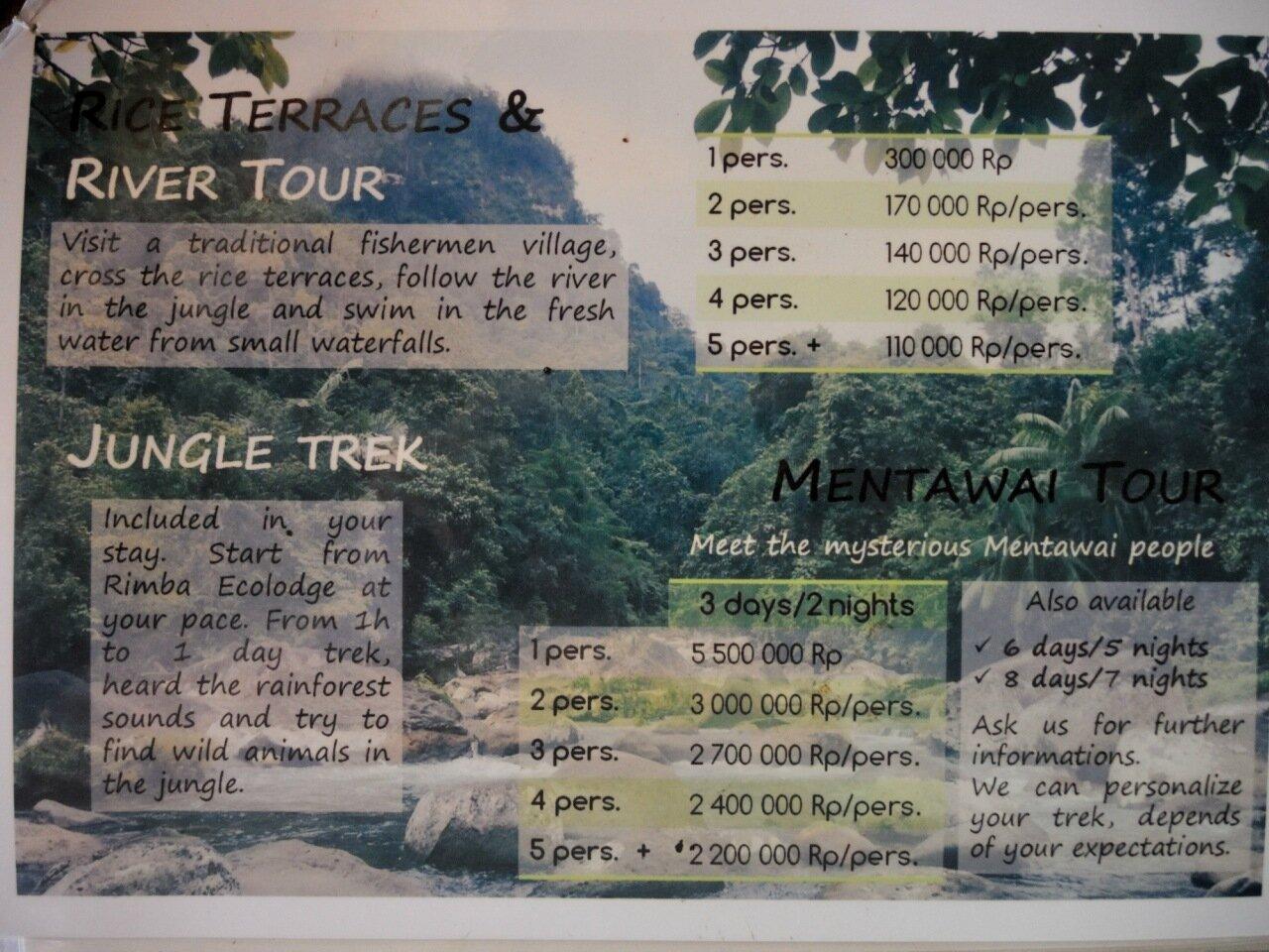 туры rimba ecolodge