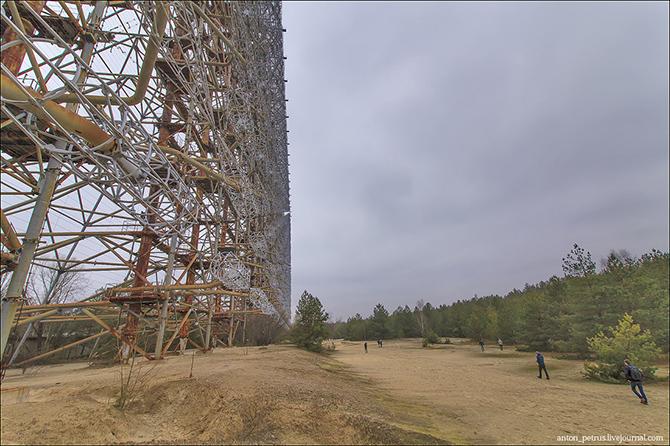 Чернобыльская зона 29 лет спустя