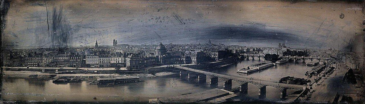 1845. Панорама города