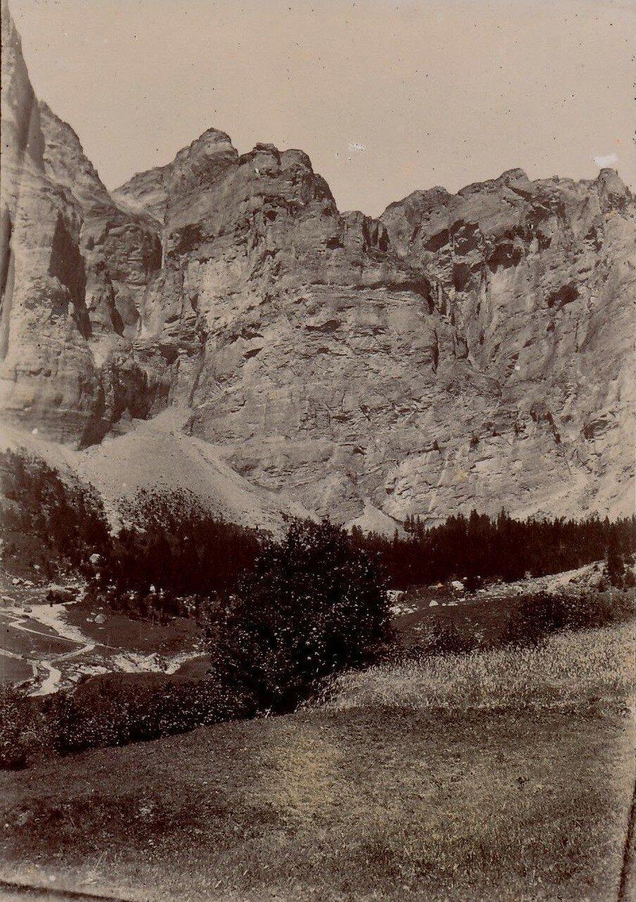 Вид перевала Гемми