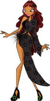 Лейла в платье