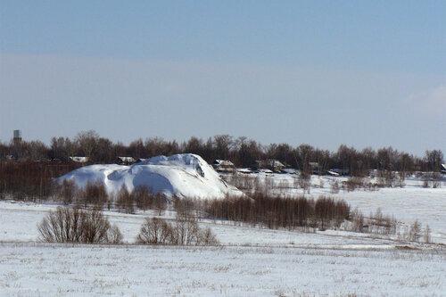 Вид на шахту №44 и пос. Комсомольский