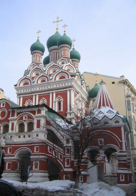 Церковь Троицы в Никитниках