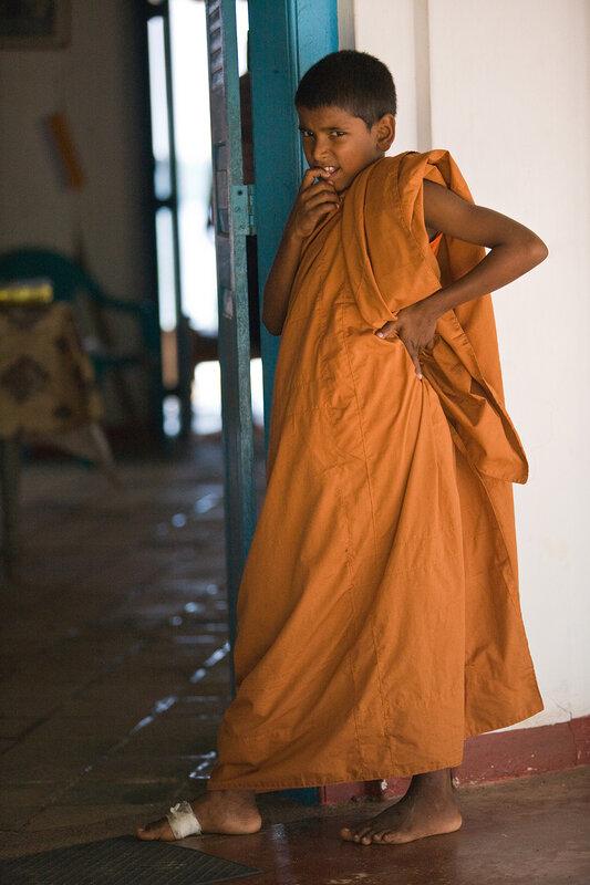 молодой монах.