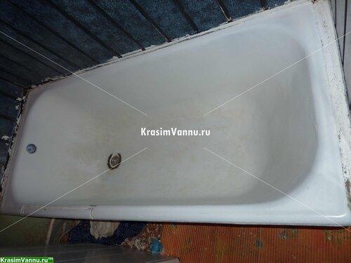 Эмалировка ванн г. Москва, 3й просп. Новогиреево - 08 - Помыта