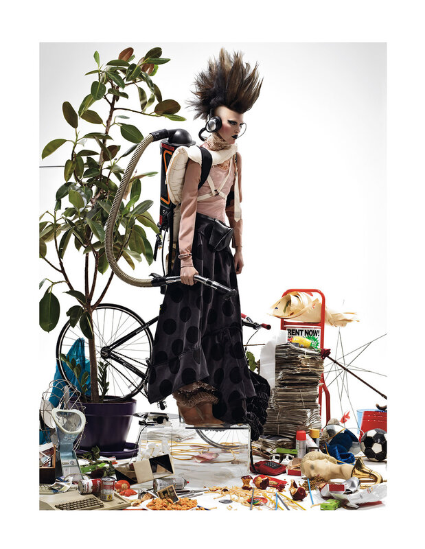 fashion story fashion  Эволюция Марио Сорренти, для мартовского Interview