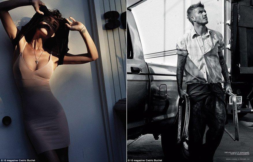 David & Victoria Beckham by Cedric Buchet