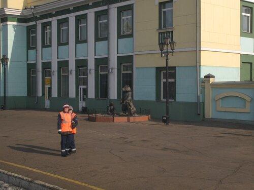 водозаправщицы на станции Улан-Удэ