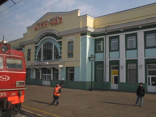 вокзал станции Улан-Удэ