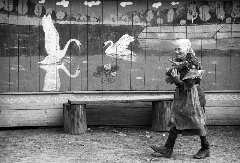 Деревенская живопись. Татарстан,1984 Фарит Губаев