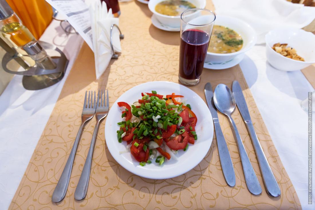 Салат «Овощной букет»