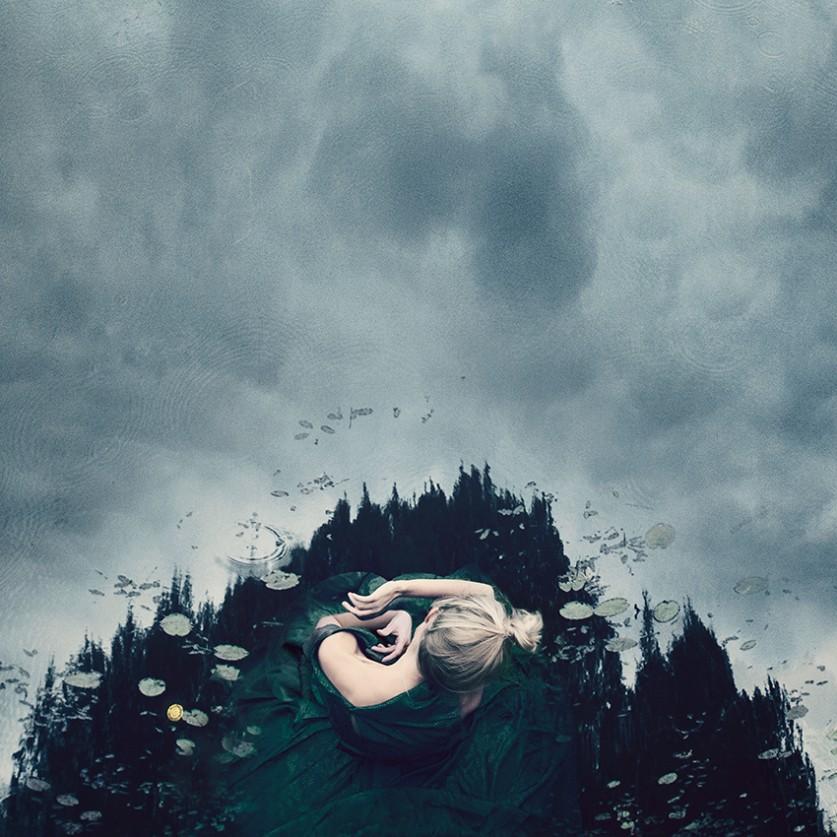 Упиваясь не прожитыми воспоминаниями… Концептуальные автопортреты Килли Спарре (Kylli Sparre) (7 фото)