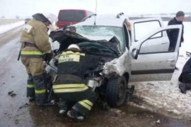 ВНижегородской области вДТП умер человек, еще 4 пострадали