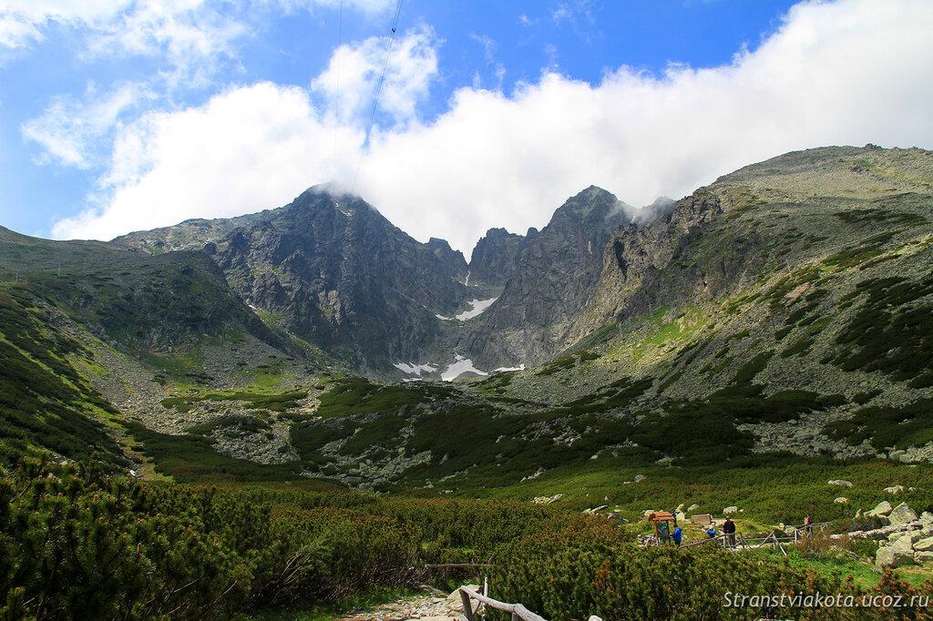 Словакия, Высокие Татры, Skalnate Pleso
