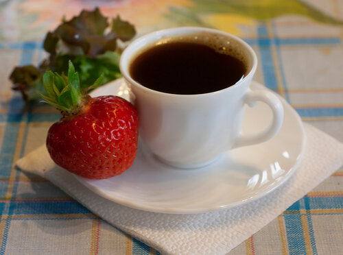 Клубника на завтрак