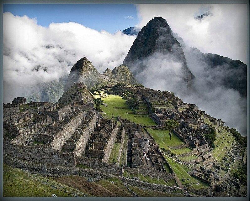 2. Перуанский город на небесах Мачу - Пикчу.JPG