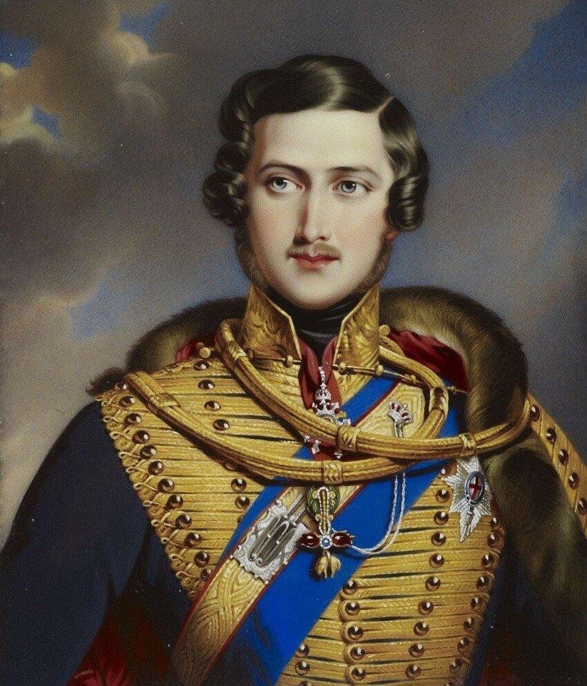 Prince Albert (1819-1861)  Signed and dated 1841 Либо по заказу королевы Виктории в 1841 году, или подарок от принца Альберта королеве Виктории в 1841 году