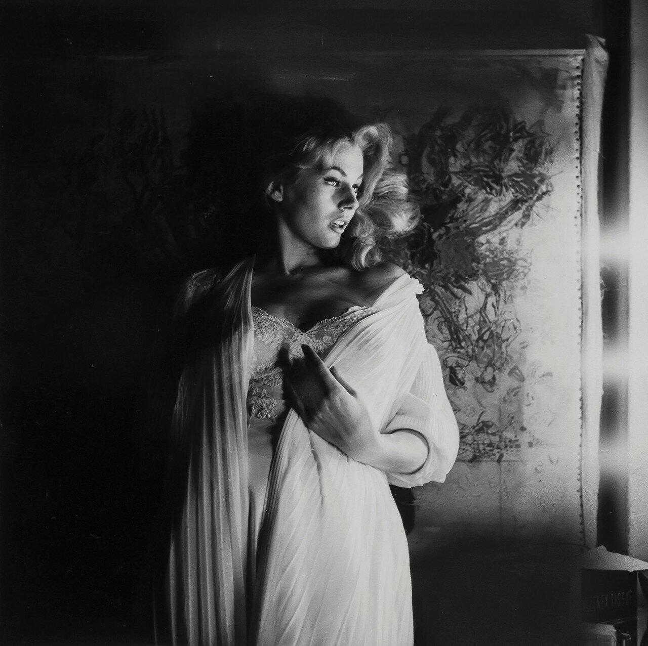 1950-е. Анита Экберг