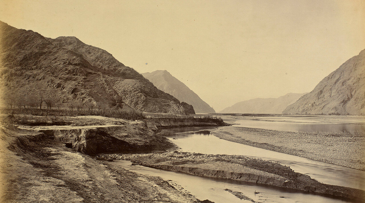 Река Кабул около Дакки