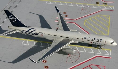 "B757-200 (Delta ""Skyteam"") with winglets"