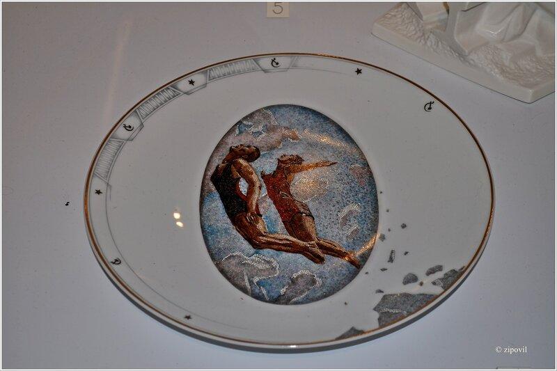 Выставка фарфора в Историческом музее