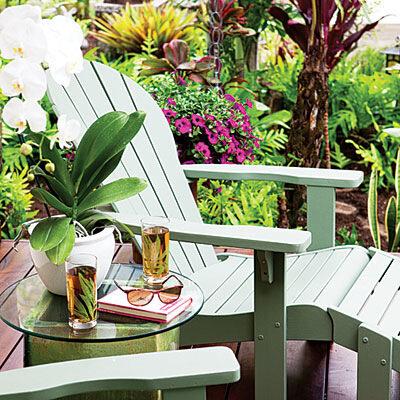 Декор красивого сада — несколько