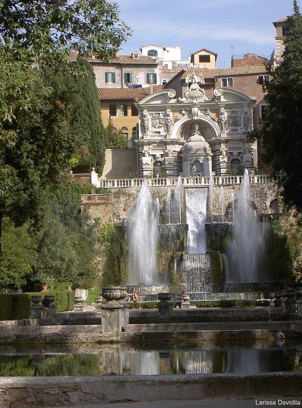 Villa d Este (16) Большой каскад.
