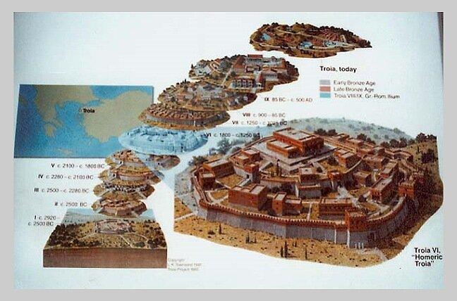 Троя-I (около 2920-2450 гг. до