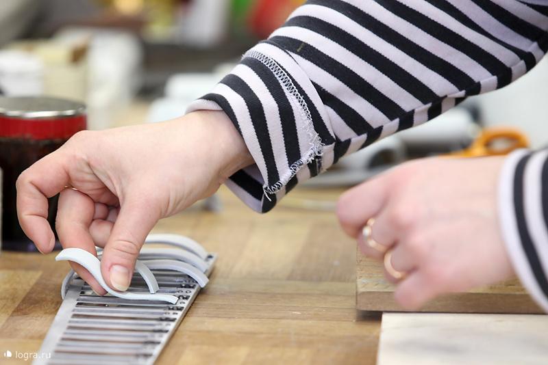 Изготовление голосовых клапанов для голосовой части цельно планочногоготово выборного баяна