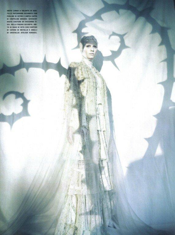 мода fashion story fashion  Театр светотени Паоло Роверзи