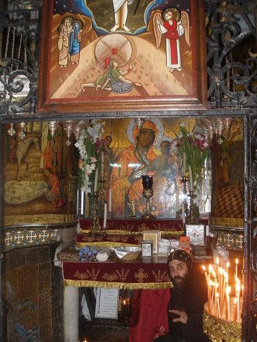 Коптская капелла в храме Гроба Господня