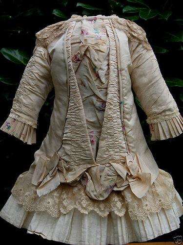 Платье для куклы беби бон своими руками