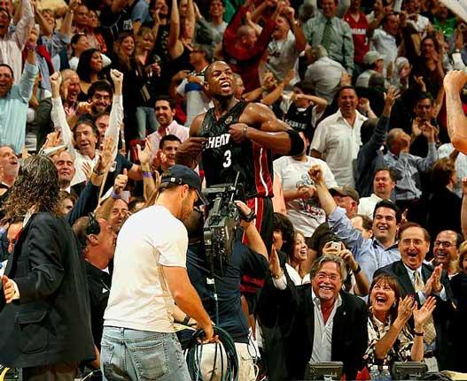 2000s Top 10 NBA Games - Miami Heat - Chicago Bulls 130-127 (2 OT) / 9 марта 2009