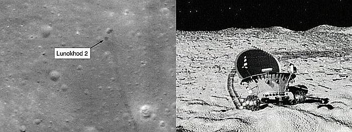 Советские космические аппараты Луна НАССА фото