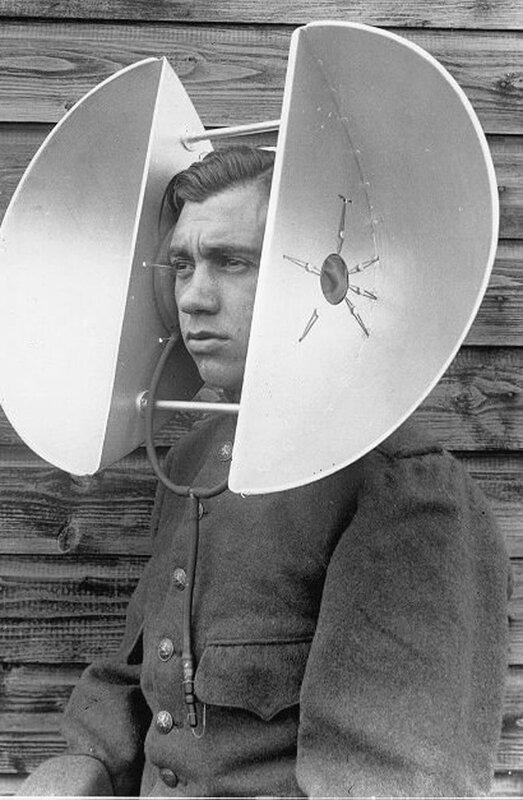 человек - уши