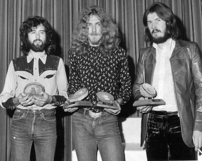 Top Band Led Zeppelin