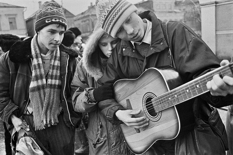 Проводы в армию. Казань,1987 Фарит Губаев