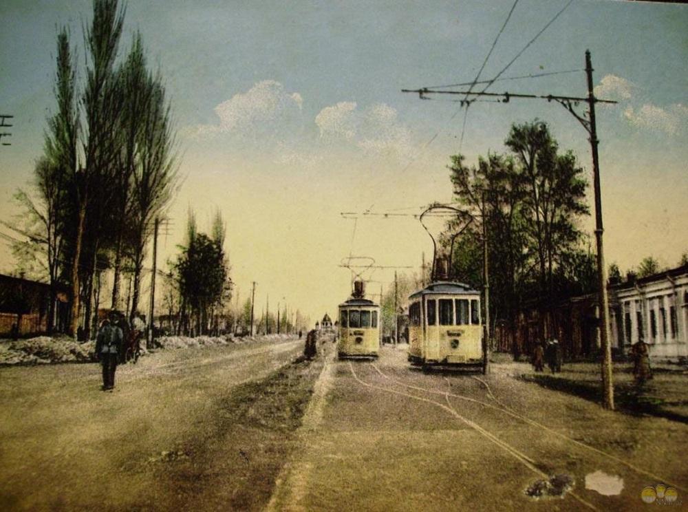 41. Бельгийский трамвай на Пушкинской, 1916 год.jpg