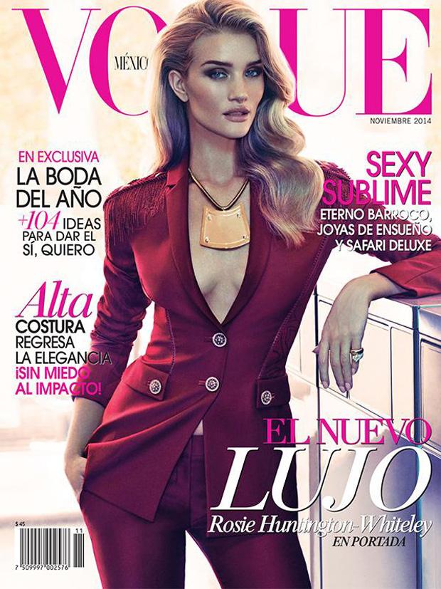 Рози Хантингтон-Уайтли (Rosie Huntington-Whiteley) в журнале Vogue Mexico