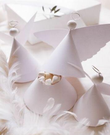 Упаковка для сладостей в форме ангела