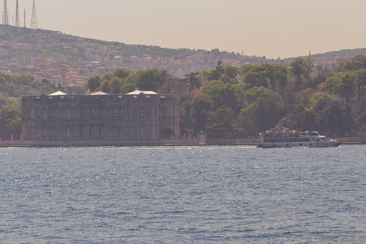 Стамбул 2015 - Длинный тур по Босфору - Виды Азиатского побережья