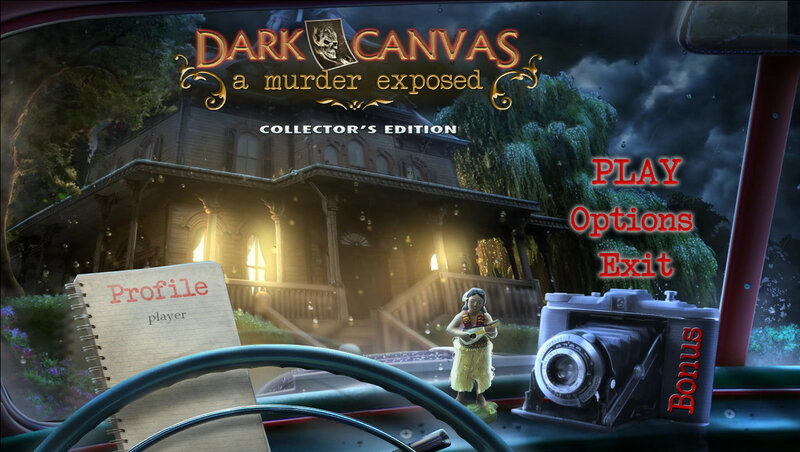 لعبة Dark Canvas: Murder Exposed