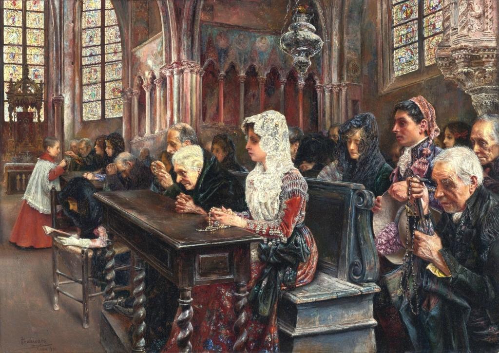 1900 Месса (En misa) Частное собрание.